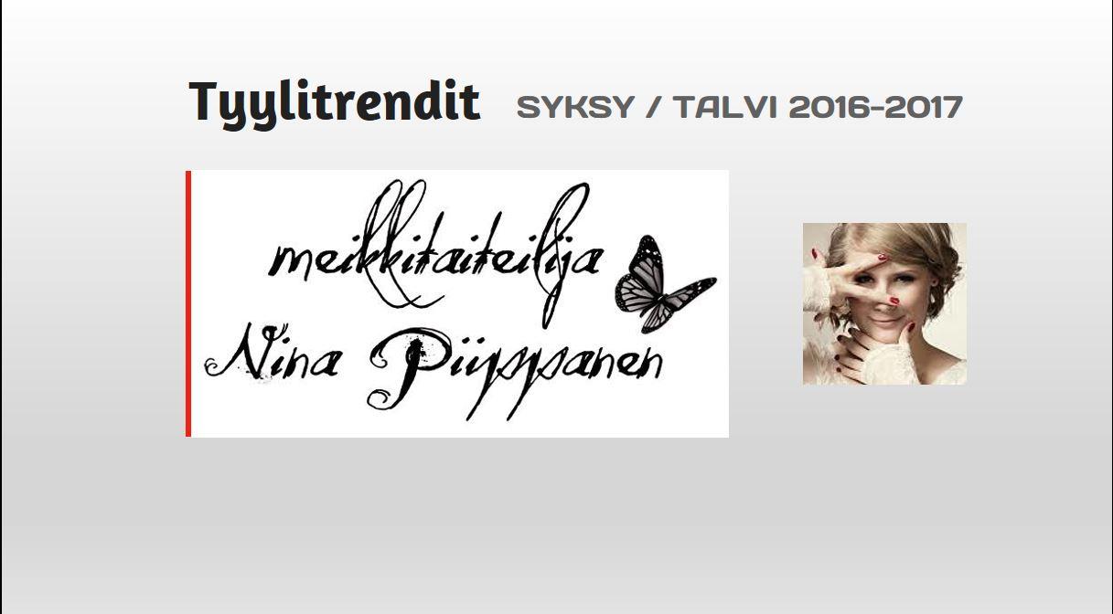 Meikkitaiteilija Nina Piippanen Tyylitrendit 2016-217