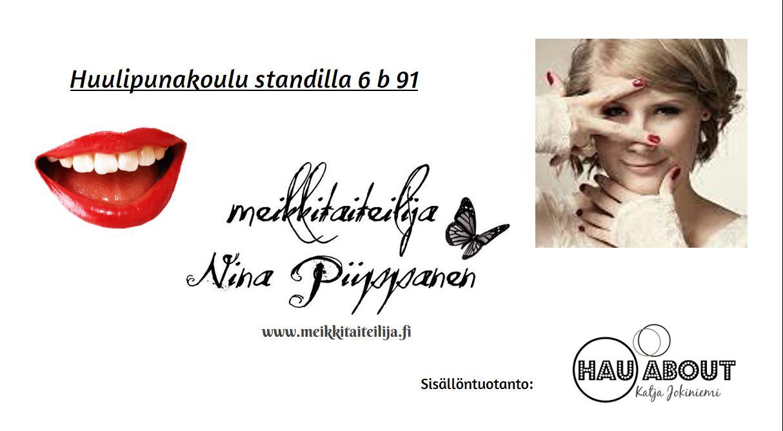 Meikkitaiteilija Nina Piippanen Tyylitrendit 2016-2017